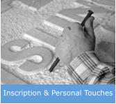 Inscription & Personal Touches